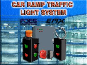 CAR RAMP TRAFFIC LIGHT